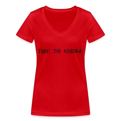 PhoeNic - Logo - Frauen Bio-T-Shirt mit V-Ausschnitt von Stanley & Stella