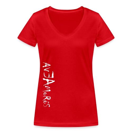 Camiseta Mujer EA B - Camiseta ecológica mujer con cuello de pico de Stanley & Stella