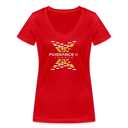 Puissance K - T-shirt bio col V Stanley & Stella Femme