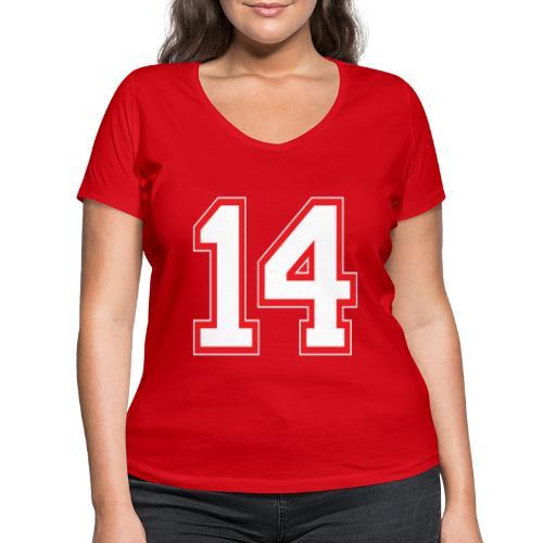 DANNIEB 14 - T-shirt ecologica da donna con scollo a V di Stanley & Stella