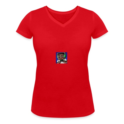 This is the official ItsLarssonOMG merchandise. - Women's Organic V-Neck T-Shirt by Stanley & Stella