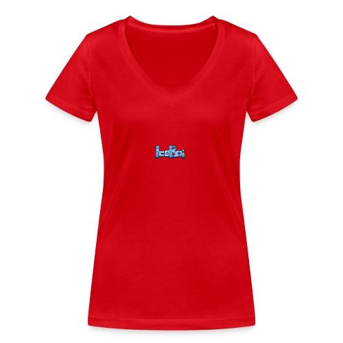THE ICE SHIRT - Økologisk Stanley & Stella T-shirt med V-udskæring til damer