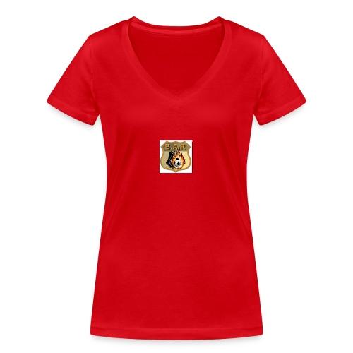 bar - Women's Organic V-Neck T-Shirt by Stanley & Stella