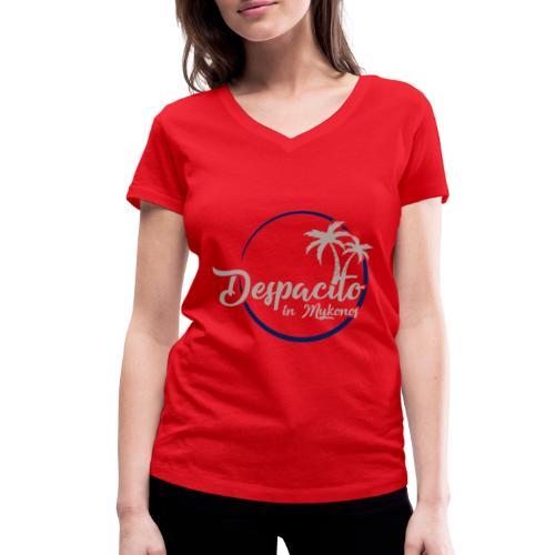 Despacito in Mykonos - T-shirt bio col V Stanley & Stella Femme