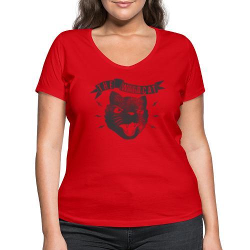 The Wildcat - Frauen Bio-T-Shirt mit V-Ausschnitt von Stanley & Stella