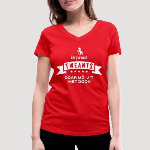 Ik proat Tweants...(lichte tekst) - Vrouwen bio T-shirt met V-hals van Stanley & Stella