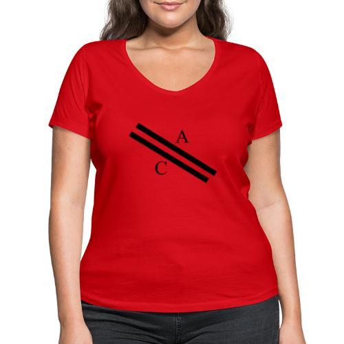 A\\C - T-shirt bio col V Stanley & Stella Femme