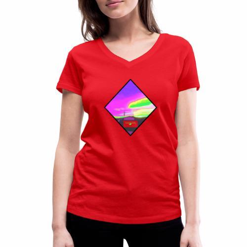 NeonfarbenNuceSKY ValCO - Frauen Bio-T-Shirt mit V-Ausschnitt von Stanley & Stella