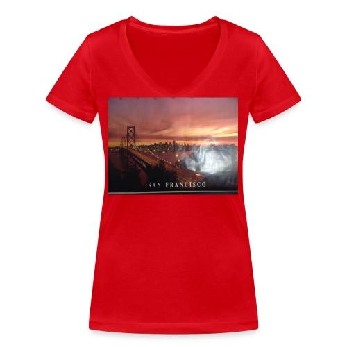 Geillllllloooooo - Frauen Bio-T-Shirt mit V-Ausschnitt von Stanley & Stella