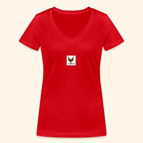 feeniks logo - Stanley & Stellan naisten v-aukkoinen luomu-T-paita