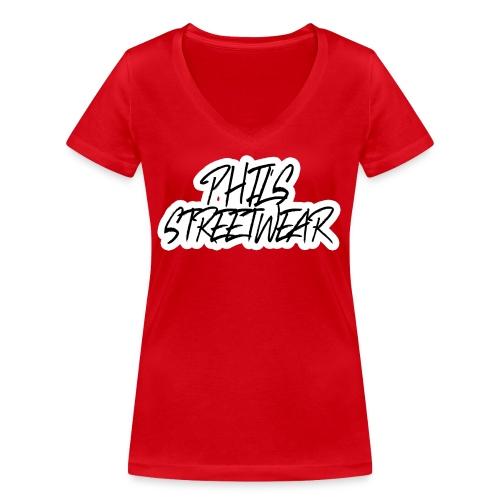 Street Tag - Frauen Bio-T-Shirt mit V-Ausschnitt von Stanley & Stella