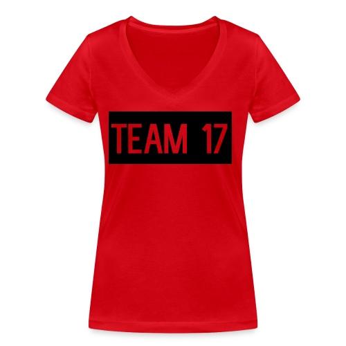 Team17 - Women's Organic V-Neck T-Shirt by Stanley & Stella