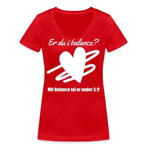 I Balance Design - Økologisk Stanley & Stella T-shirt med V-udskæring til damer