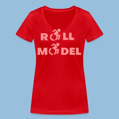 RollModel5 - Vrouwen bio T-shirt met V-hals van Stanley & Stella