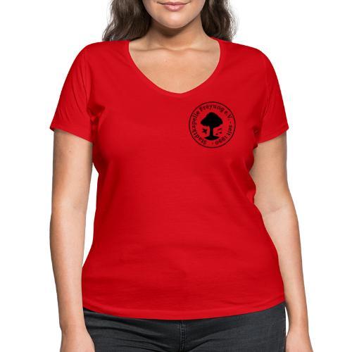 Stadtkapelle Freyung e.V. - Traditionelles Logo - Frauen Bio-T-Shirt mit V-Ausschnitt von Stanley & Stella