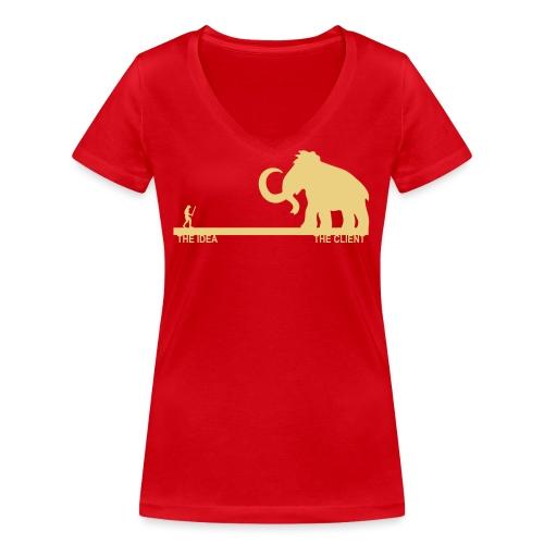 Mammut - T-shirt ecologica da donna con scollo a V di Stanley & Stella
