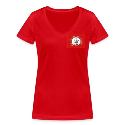 CoL - Women's Organic V-Neck T-Shirt by Stanley & Stella