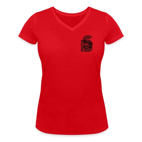 """Secret Blend (SB) """"kept simple"""" - Frauen Bio-T-Shirt mit V-Ausschnitt von Stanley & Stella"""