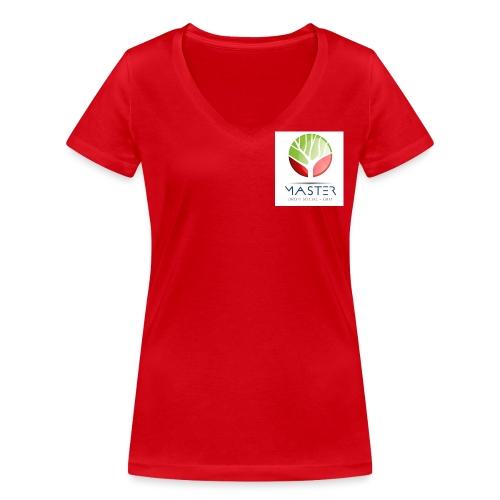 Logo Non vectorisé - T-shirt bio col V Stanley & Stella Femme