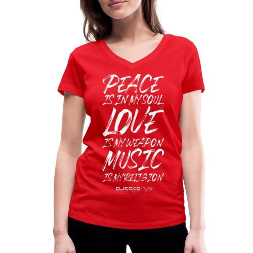 Djecko 001 - T-shirt bio col V Stanley & Stella Femme