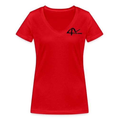 logo-pour-reno-3 - T-shirt bio col V Stanley & Stella Femme