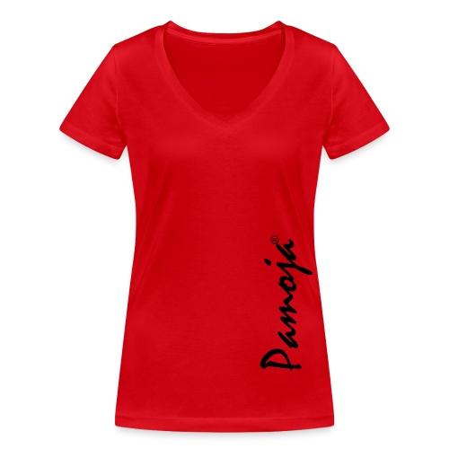 Pamoja gif - Frauen Bio-T-Shirt mit V-Ausschnitt von Stanley & Stella