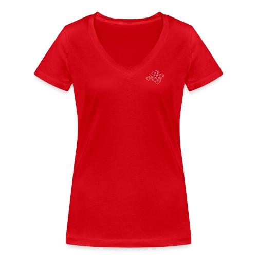 MALLORCA - Camiseta ecológica mujer con cuello de pico de Stanley & Stella