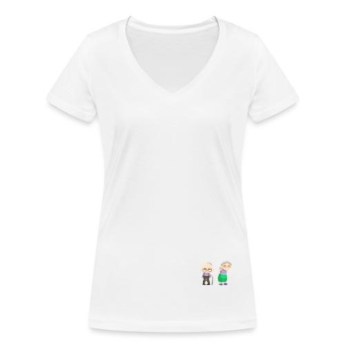 Grow old with me - Frauen Bio-T-Shirt mit V-Ausschnitt von Stanley & Stella