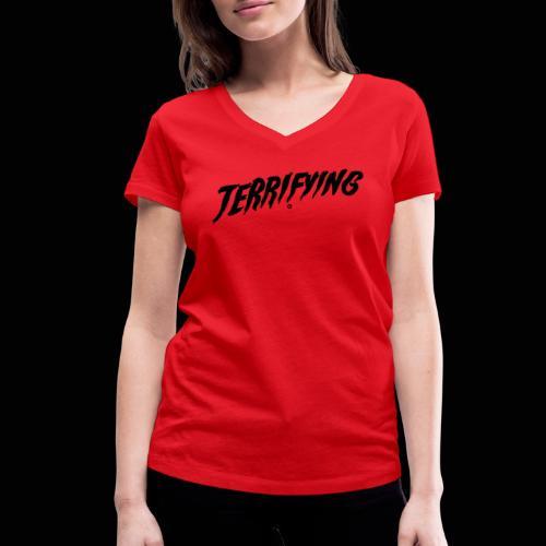 Terrifying, la peur graphique ! - T-shirt bio col V Stanley & Stella Femme
