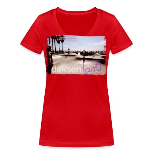 Los Angeles Part 2 - T-shirt ecologica da donna con scollo a V di Stanley & Stella