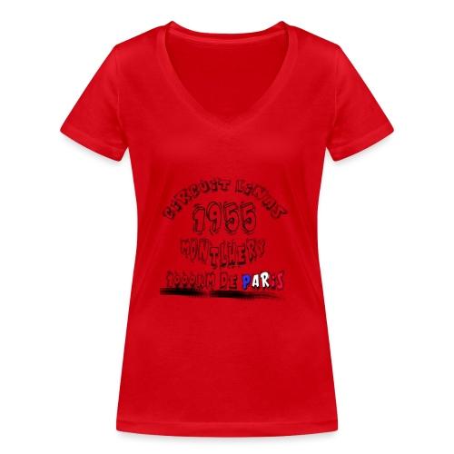 Les anciennes courses automobile - T-shirt bio col V Stanley & Stella Femme