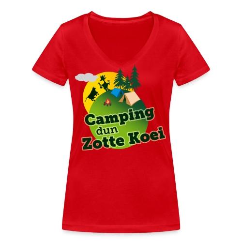 2015 logo camping carnaval png - Vrouwen bio T-shirt met V-hals van Stanley & Stella