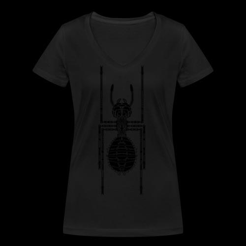 Ameise - Frauen Bio-T-Shirt mit V-Ausschnitt von Stanley & Stella