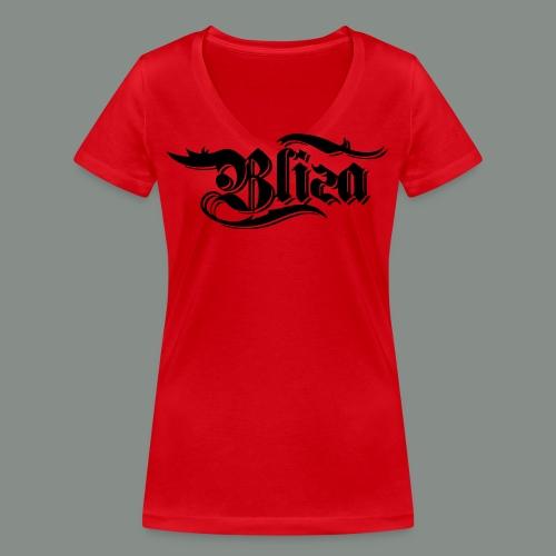 schwarz spezial - Frauen Bio-T-Shirt mit V-Ausschnitt von Stanley & Stella