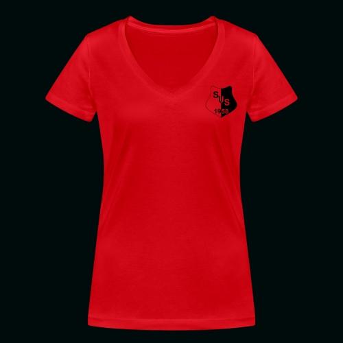 dfs wl d hochmoor sus - Frauen Bio-T-Shirt mit V-Ausschnitt von Stanley & Stella