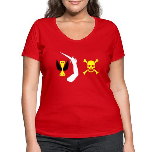 Christopher Moody Flag - T-shirt bio col V Stanley & Stella Femme
