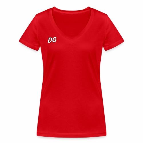 Dutchgamerz merch 2018 - Vrouwen bio T-shirt met V-hals van Stanley & Stella