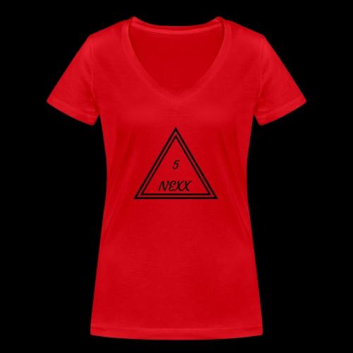 5nexx triangle - Vrouwen bio T-shirt met V-hals van Stanley & Stella