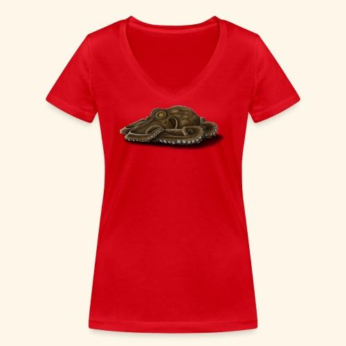 Oktopus - Frauen Bio-T-Shirt mit V-Ausschnitt von Stanley & Stella