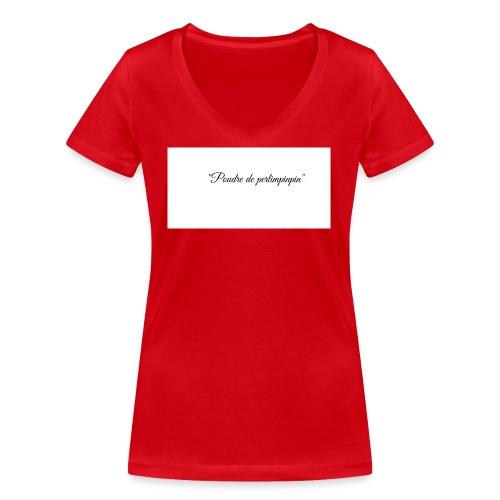 Happy - T-shirt bio col V Stanley & Stella Femme