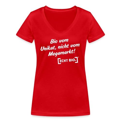 Bio vom Unikat - Frauen Bio-T-Shirt mit V-Ausschnitt von Stanley & Stella