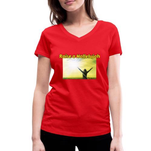E2A1883E 90F3 41EE A546 DD94094C0142 - Økologisk Stanley & Stella T-shirt med V-udskæring til damer