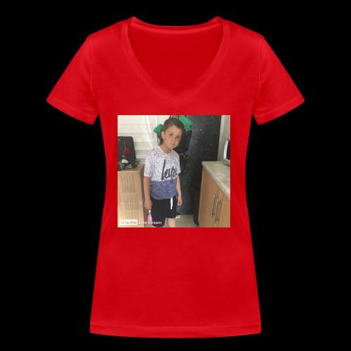IMG 0463 - Women's Organic V-Neck T-Shirt by Stanley & Stella