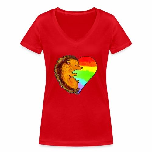 RICCIO - T-shirt ecologica da donna con scollo a V di Stanley & Stella