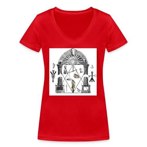 A foot Littler - Ekologisk T-shirt med V-ringning dam från Stanley & Stella