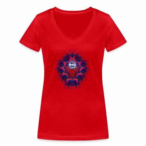 Alien Skull - whtwzrd - Stanley & Stellan naisten v-aukkoinen luomu-T-paita