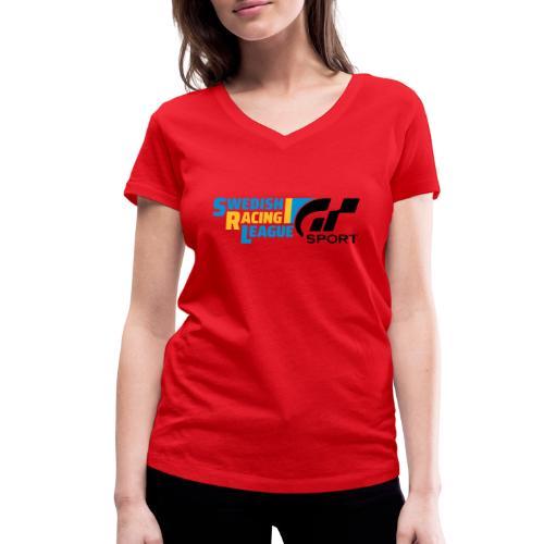 Swedish Racing League GT Sport svart - Ekologisk T-shirt med V-ringning dam från Stanley & Stella