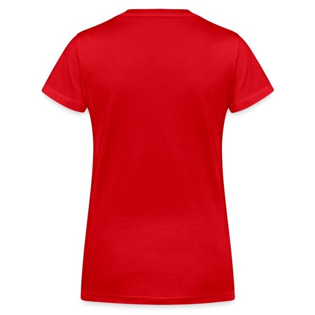 Vorschau: never walk alone hund pferd - Frauen Bio-T-Shirt mit V-Ausschnitt von Stanley & Stella