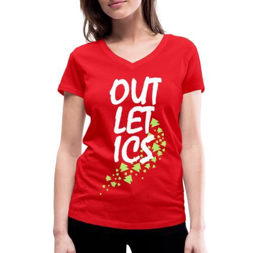 outletics girlie - Frauen Bio-T-Shirt mit V-Ausschnitt von Stanley & Stella