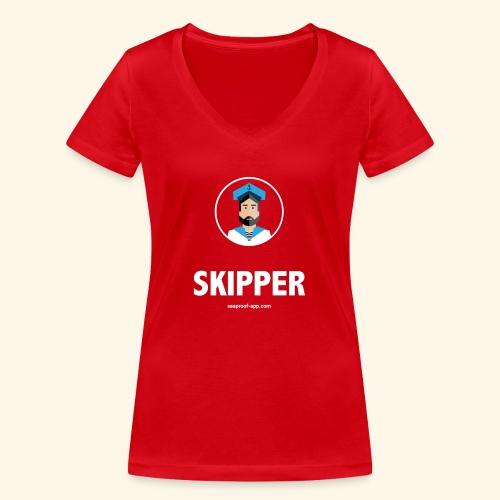 SeaProof Captain - Frauen Bio-T-Shirt mit V-Ausschnitt von Stanley & Stella